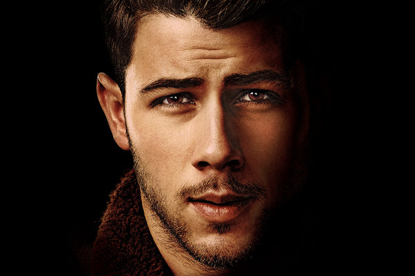 Nick Jonas Face Poster