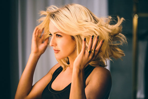 Ellie Goulding Beautiful Hairs Poster