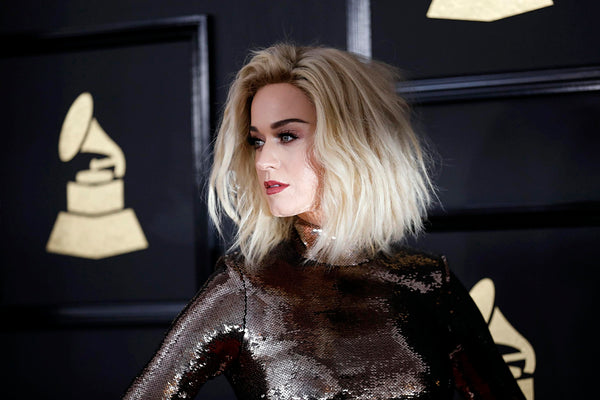 Katy Perry Blonde Hair Poster