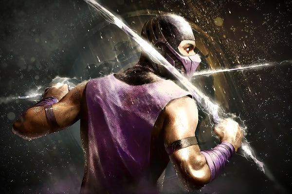 Mortal Kombat Scorpion Artwork Poster