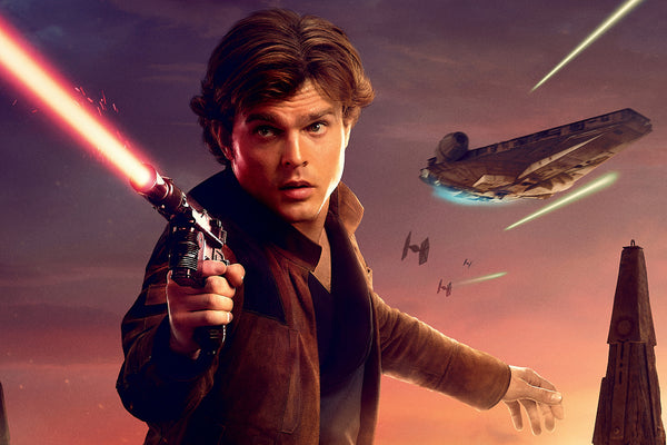Han Solo In Solo A Star Wars Story Poster