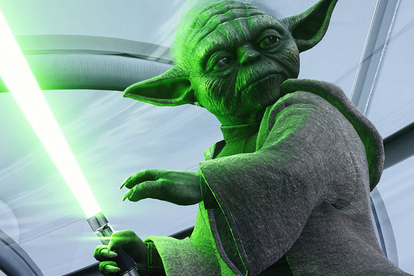 Yoda Star Wars Hot Poster