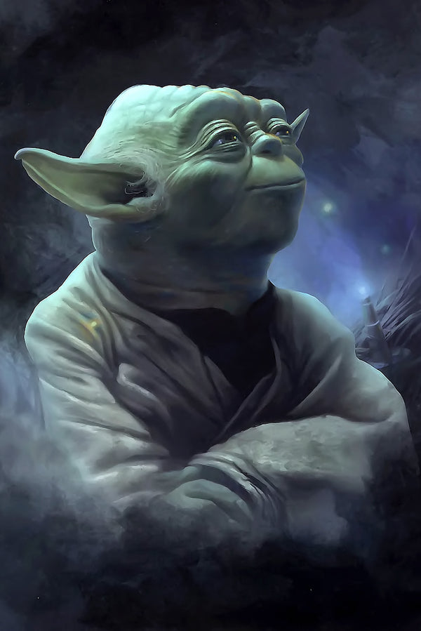 Yoda Star Wars Fan Art Poster