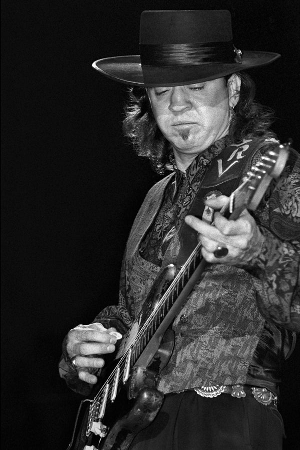 Stevie Ray Style Poster