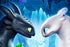 Toothless With His Girlfirend Night Fury Poster