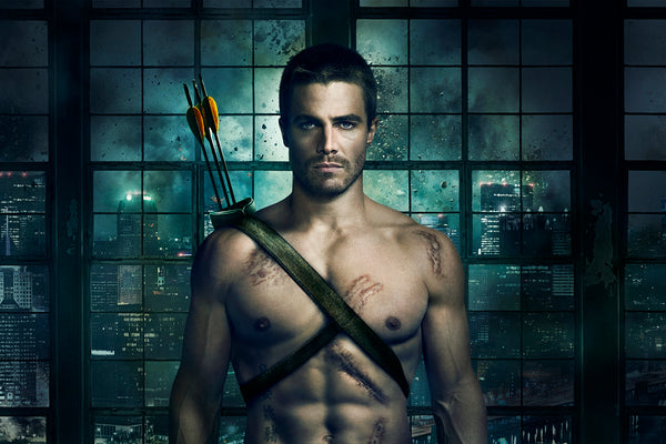 Green Arrow Stephen Amell Oliver Queen Poster