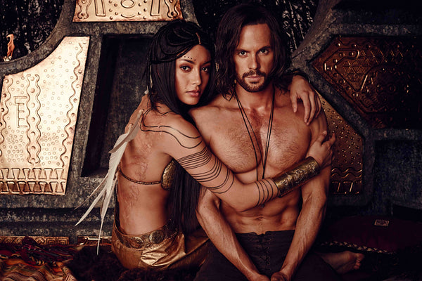 Da Vinci Demons Tom Riley Carolina Guerra Poster