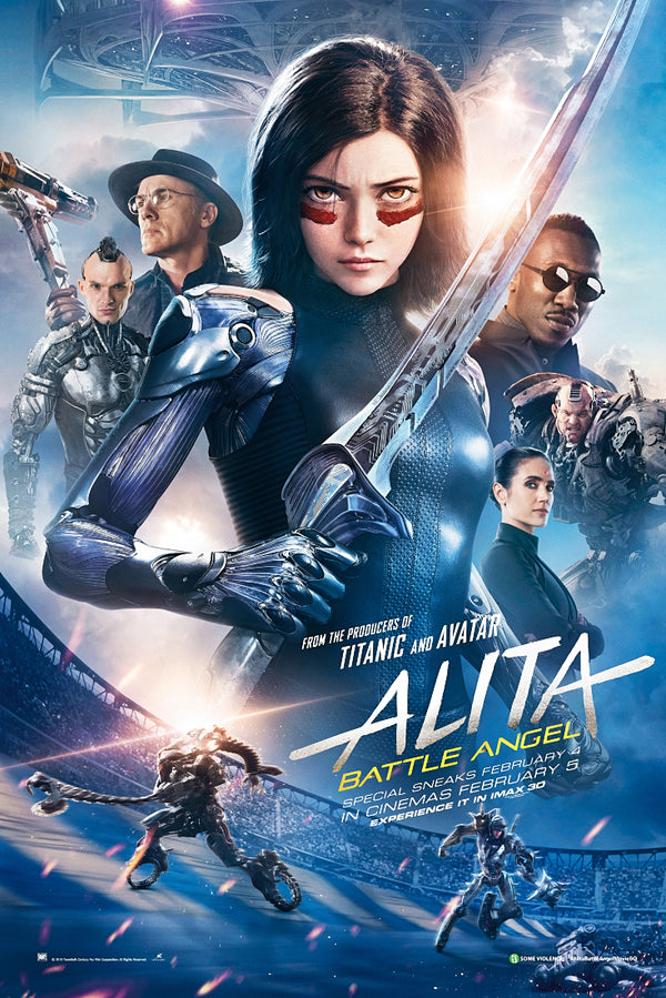 Alita Battle Angel (2019) Movie Poster