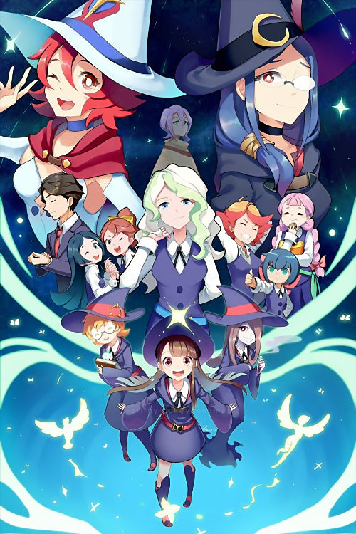 Little Witch Academia (2/4) Poster