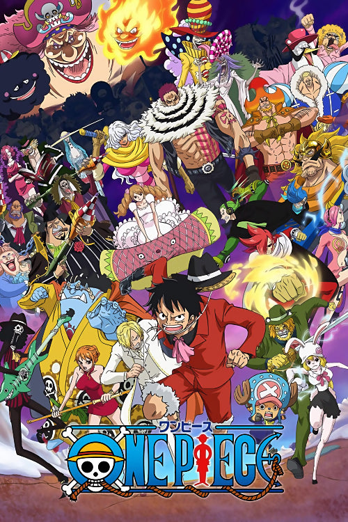 One Piece All Characters Poster