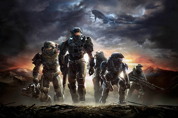 Halo Reach Key Art Poster
