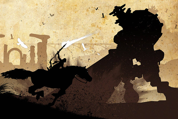 Shadow of the Colossus Game Poster