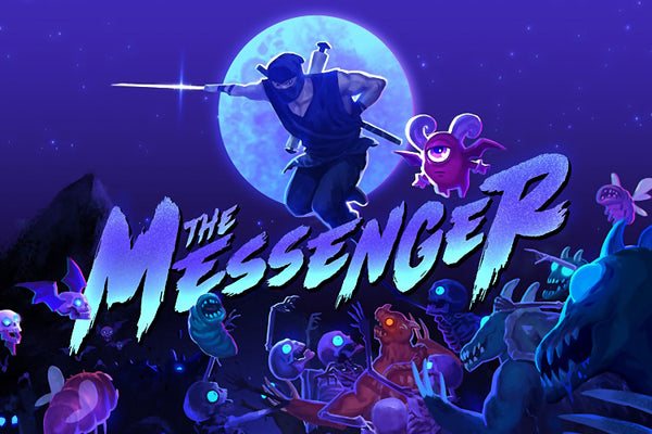The Messenger Fan Game Poster