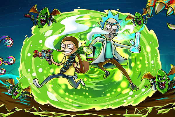 Movie Rick and Morty Poster