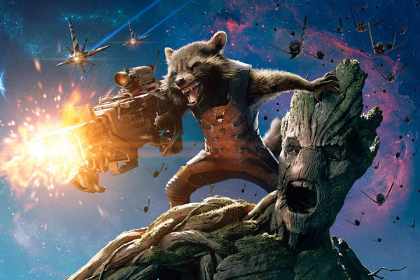 Guardians of the Galaxy Groot Poster