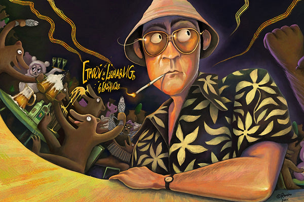 Fear and Loathing in Las Vegas Art Poster