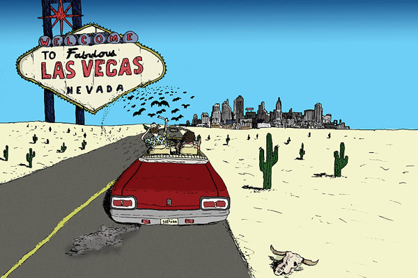 Fear and Loathing in Las Vegas Artwork Poster