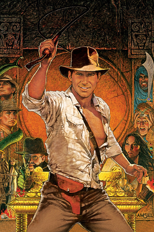 Indiana Jones Raiders of the Lost Ark (2/2) Poster