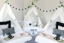 slumber-party-set-up-for-bridal-party-in-auckland