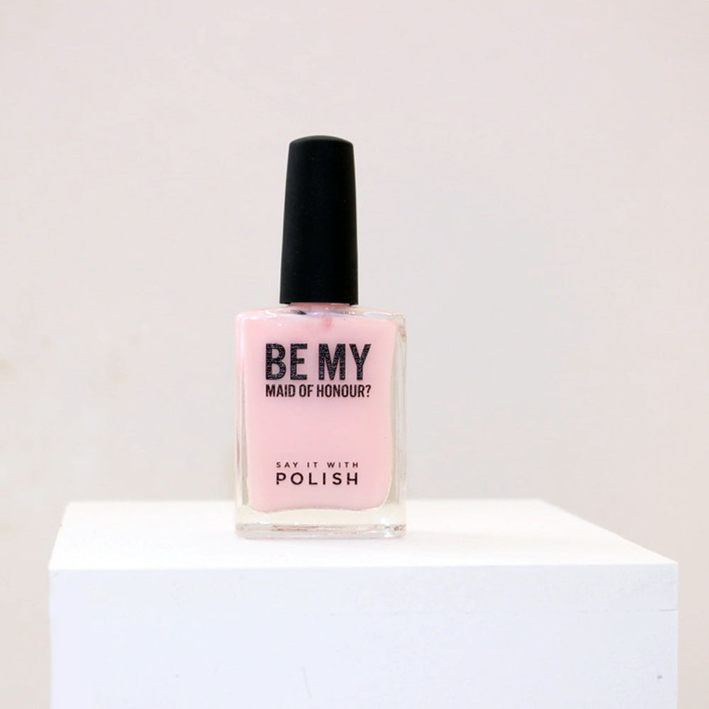 'Will You Be My Maid Of Honour?' Nail Polish