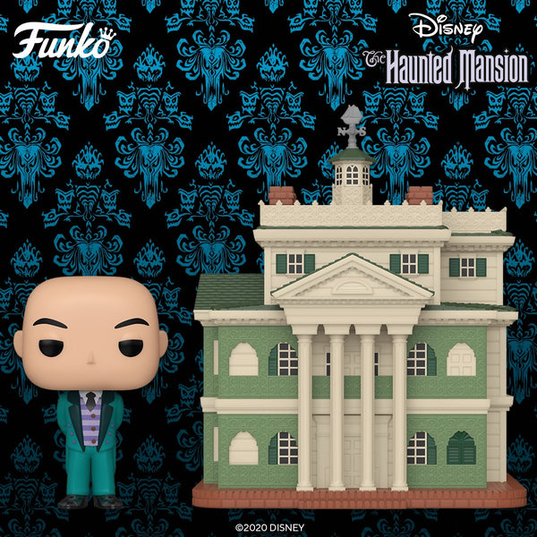 Pre-Order FUNKO POP Disney's Haunted Mansion with Butler