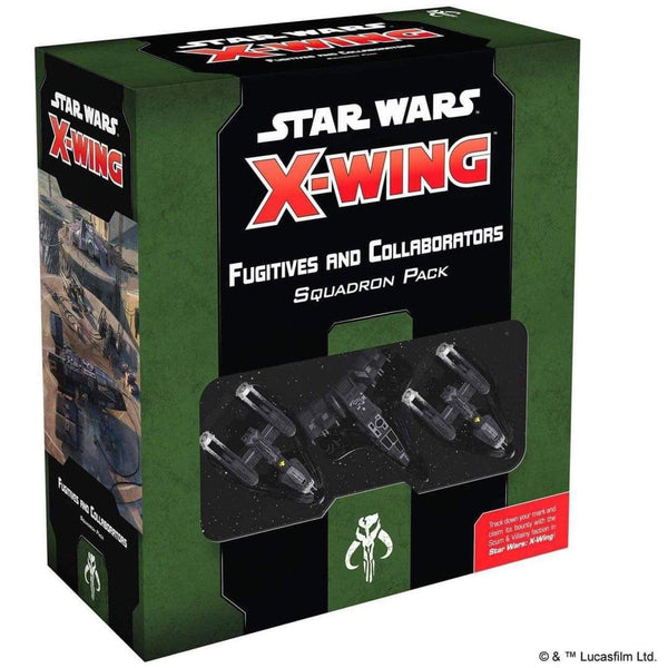 *PRE-ORDER* - Star Wars X-Wing - Fugitives and Collaborators Squadron Pack