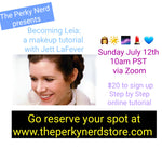 Becoming Leia: a Makeup Tutorial with Jett LaFever July 12th