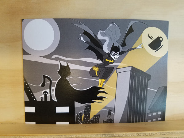 Perky Batgirl 5x7 Single Print