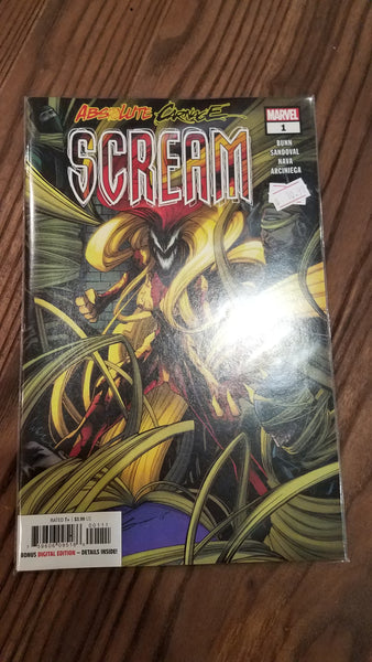 Comics: Absolute Carnage Tie-In - Scream