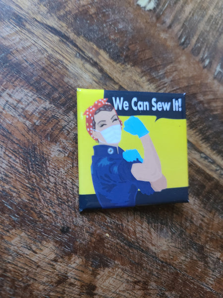 We can Sew it! Pins - By Karen Bates