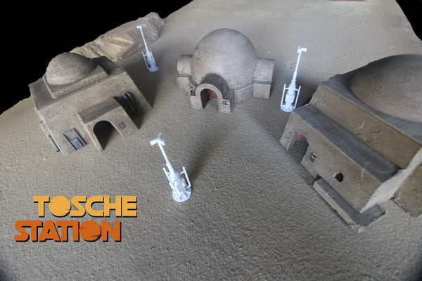 Star Wars Legion Terrain : Tosche Station - 3 Building STL and VAP  (DIGITAL FILES) Pack!
