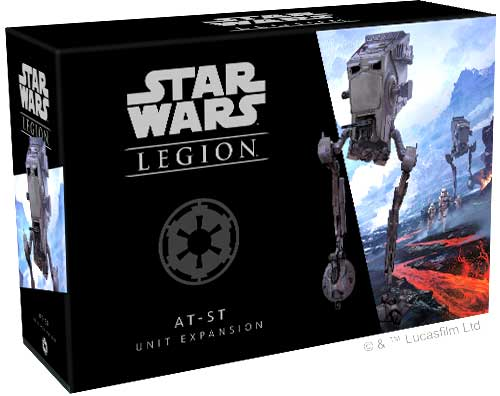 Star Wars Legion: Expansion AT-ST Unit for Pre Order In Store Pick Up Only