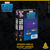 Marvel Crisis Protocol - Miles Morales Spiderman & Ghost Spider