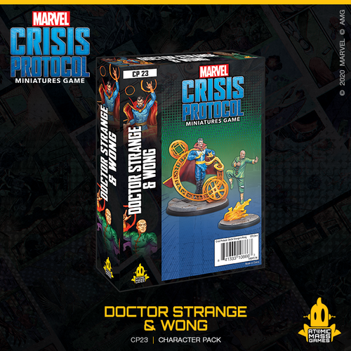 Marvel Crisis Protocol - Dr Strange and Wong Expansion