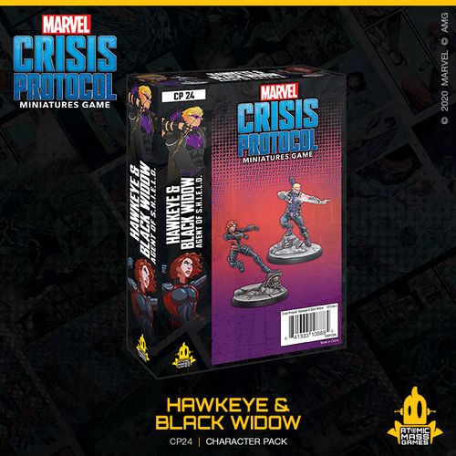 Marvel Crisis Protocol - Hawkeye and Black Widow