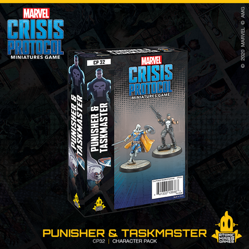 Marvel Crisis Protocol - Punisher and Taskmaster