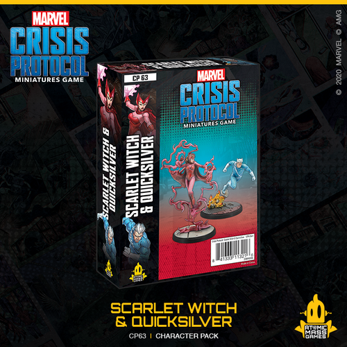 *PRE-ORDER* - Marvel Crisis Protocol - Scarlet Witch & Quicksilver Pack