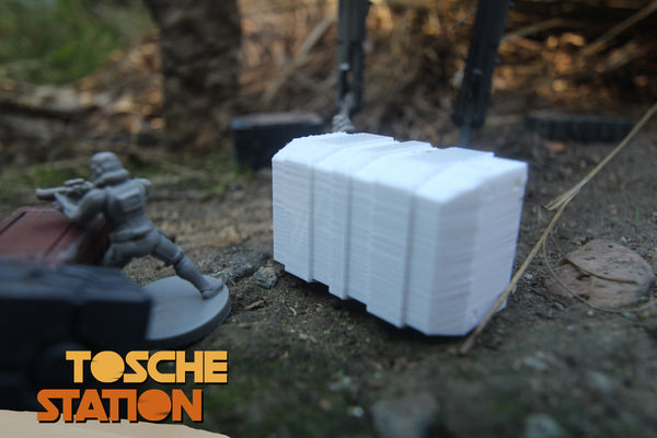 Toshe Station : Star Wars Legion Scatter Terrain : 2 Heavy Duty Crates