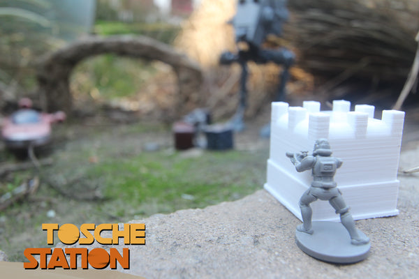 Toshe Station : Star Wars Legion Scatter Terrain : 2 Large Crates