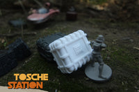 Toshe Station : Star Wars Legion Scatter Terrain :  Strap Crate STL (DIGITAL FILE)