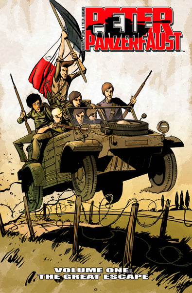 Peter Panzerfaust Vol.1 - The Great Escape TP