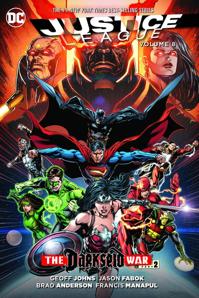 Justice League Vol.8 - Darkseid War Part 2 By Johns