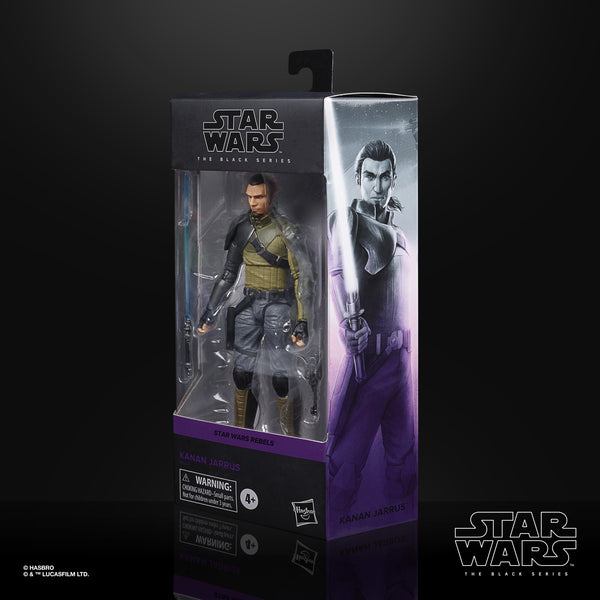 Star Wars The Black Series - Kanan Jarrus 6-Inch Action Figure