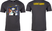 The Perky Nerd Legion Gamers shirt - (M, L, 2XL, 3XL)