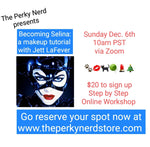 Becoming Selina: a Makeup Tutorial with Jett LaFever Dec. 6th