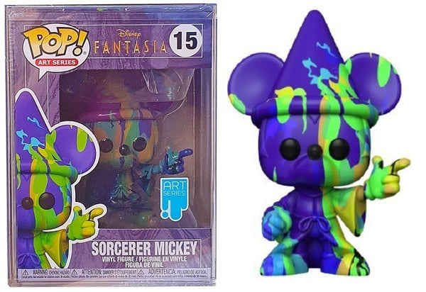 Funko POP! 15 - Sorcerer Mickey (Art Series w/ Protector)