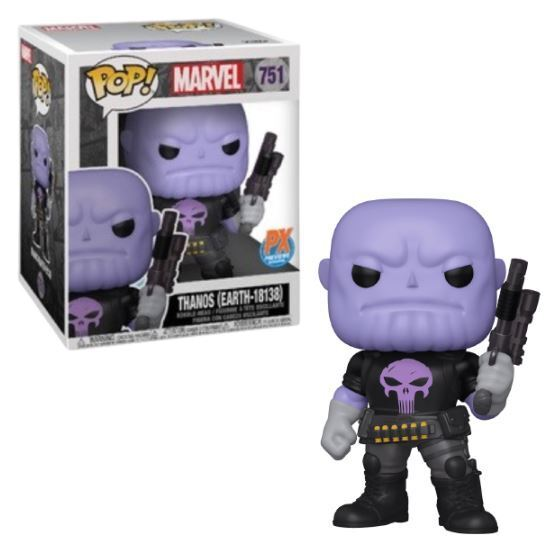 Funko POP! 751 - Thanos Earth 18138 (6in PX Exclusive)