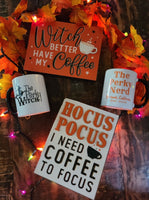 Perky Witch Bundle - (2) Signs and (1) Mug