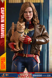 SIDESHOW Collectible - Captain Marvel Deluxe Version Sixth Scale