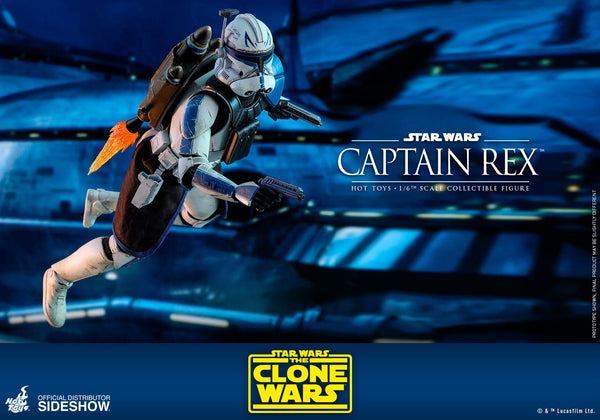 Sideshow Collectibles Captain Rex Sixth Scale Figure by Hot Toys - PRE-ORDER